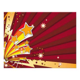 star_006 personalized invitation