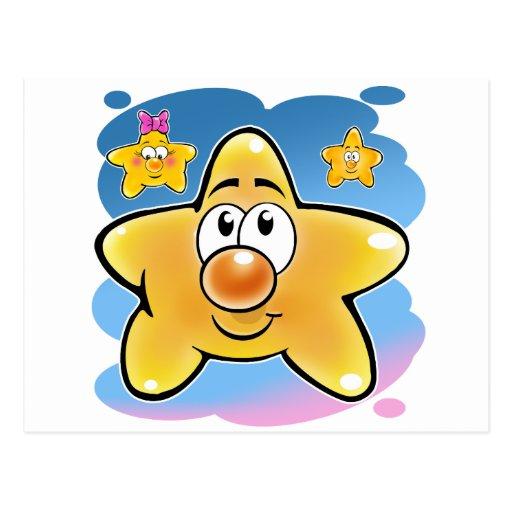 Star 01 postcard