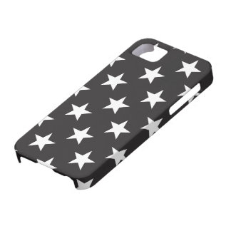 Star 1 Black and White iPhone 5 Cases