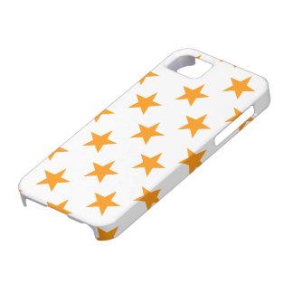Star 1 Orange iPhone 5 Cover