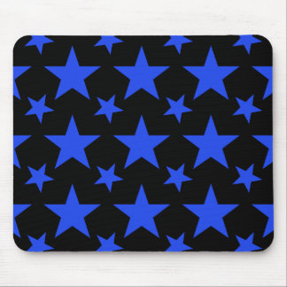 Star 2 Blue Mouse Pad