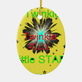 STAR 2.png Ceramic Ornament