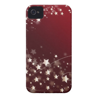 star-427749 DIGITAL RED WHITE SHINY STAR STARRY SK iPhone4 Case