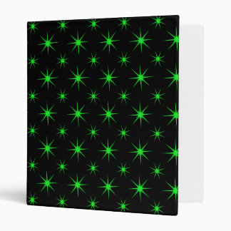 Star 5 Green 3 Ring Binder
