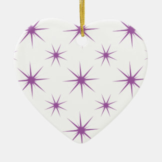 Star 5 Radiant Orchid Christmas Ornament