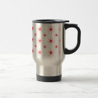Star 5 Red Travel Mug