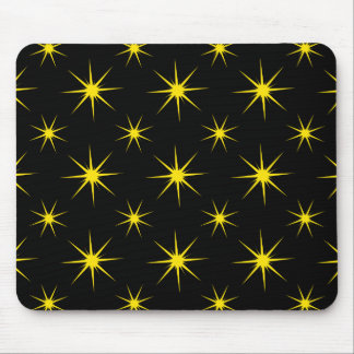 Star 5 Yellow Mouse Pad