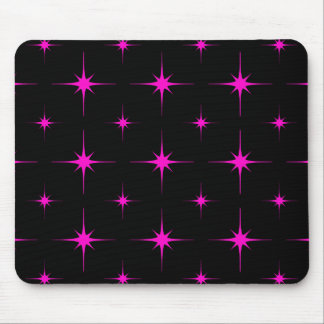 Star 6 Pink Mouse Pad