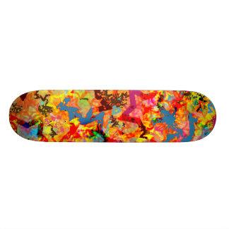Star Abstract Skateboard Deck