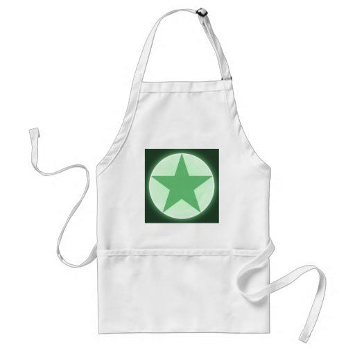 star adult apron