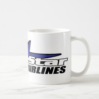 Star Airlines azul Tazas De Café