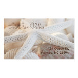 Star Among Shells Double-Sided Standard Business Cards (Pack Of 100)