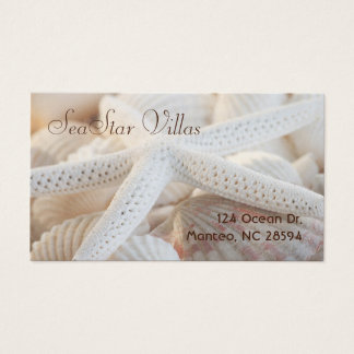 Star Among Shells Business Card