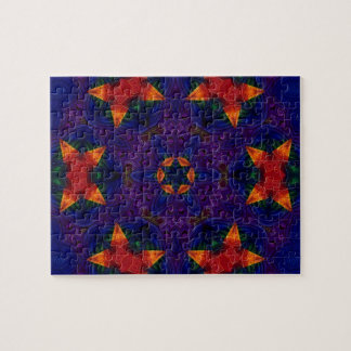 Star and Butterfly Mandala Puzzle