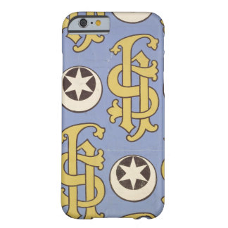 Star and Clef ecclesiastical wallpaper design Barely There iPhone 6 Case