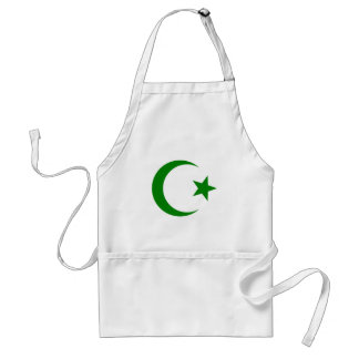 Star and Crescent Adult Apron