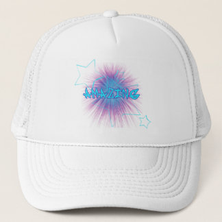 star and fire trucker hat