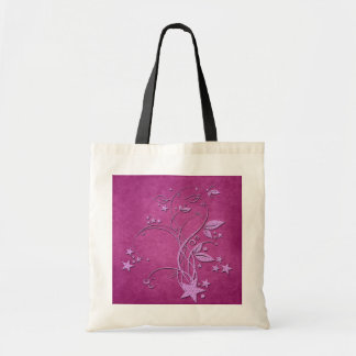 Star and Leaves Tote Bag