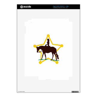 Star and Rider iPad 2 Skin