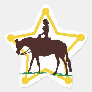 Star and Rider Star Sticker