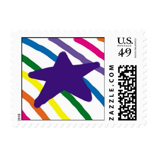 Star and Stripes Postage Stamps