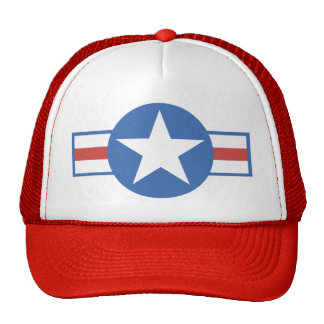 Star and Stripes Trucker Hats