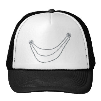 Star and three chains trucker hat