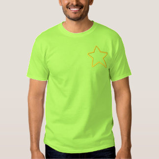 Star Applique Embroidered T-Shirt