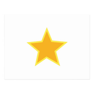 Star Applique Postcard