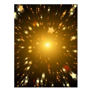 Star Art Postcard