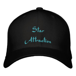 Star Attraction Embroidered Cap