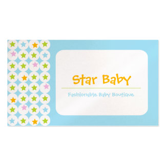Star Baby Business Cards