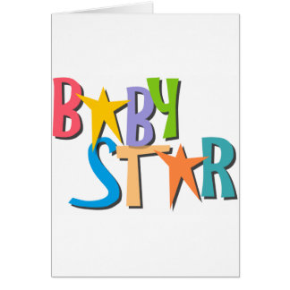star_baby card
