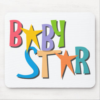 star_baby mouse pad