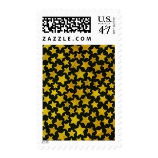Star background postage stamp