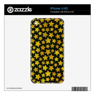Star background decals for the iPhone 4