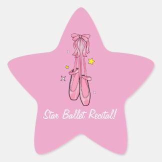 Star Ballet Recital Star Sticker