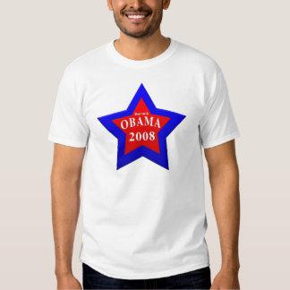 star Barack Obama 2008 T-shirt