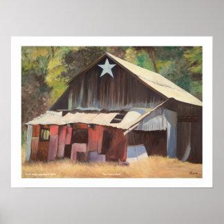 """Star Barn 2004"" by Tom Norr Print"