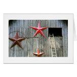 Star Barn Greeting Card