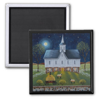 Star Barn - Spring Arrival Fridge Magnet