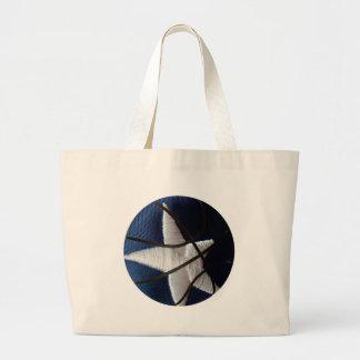 Star basket large tote bag