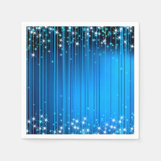 Star Beams Paper Napkin