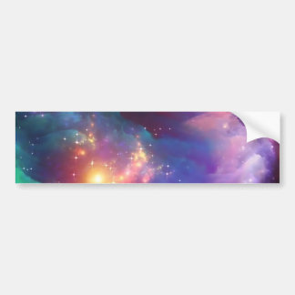 Star birth bumper sticker