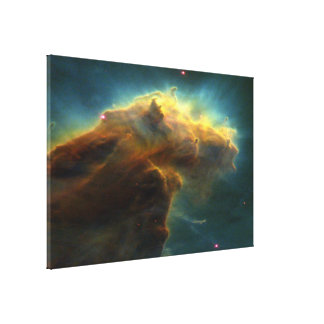 Star-Birth Clouds in M16 Canvas Print