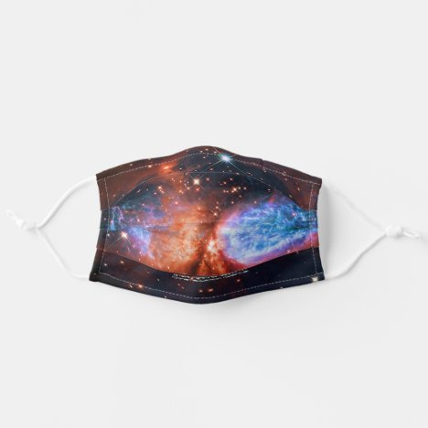 Star Birth in Constellation Cygnus, The Swan Adult Cloth Face Mask