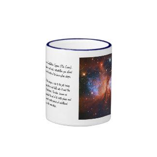 Star Birth in Constellation Cygnus, The Swan Ringer Mug