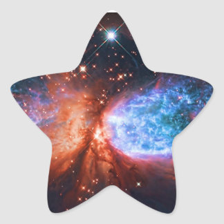 Star Birth in Constellation Cygnus, The Swan Star Sticker