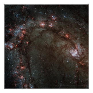 Star Birth in Galaxy M83 Detail 12x12 (13x13) Poster