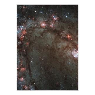 "Star birth in Messier 83 5"" X 7"" Invitation Card"